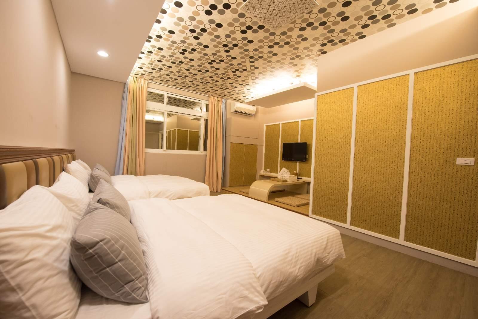 海景和室四人套房